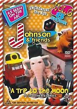 """JOHNSON and FRIENDS - DVD """" Volume 6 """" A TRIP TO THE MOON - RARE ! Out of Print"""