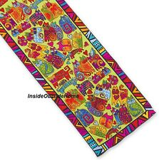 Laurel Burch Silk Neck SCARF Wrap Karly's Cats Oblong New Retired