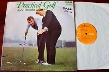 JOHN JACOBS PRACTICAL GOLF LP RECORD RCA (1972) EX ENGLAND DR GOLF
