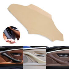 Real Leather with Magic Paste Door Handle Panel Cover For BMW 5 Series F10