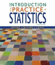 Introduction to the Practice of Statistics, Fourth Edition. Excellent condition!