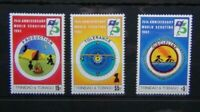 Trinidad & Tobago 1982 75th Anniversary of Boy Scout Movement set MNH