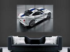 FERRARI 599 GTO SPORT FAST CAR WALL POSTER ART PICTURE PRINT LARGE  HUGE