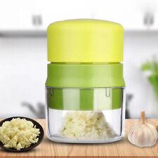 HN- Portable Garlic Press Chopper Slicer Hand Presser Grinder Crusher Kitchen To