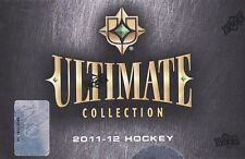 2011 2012 ULTIMATE COLLECTION HOCKEY HOBBY BOX NEW From SEALED MASTER CASE !