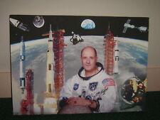 Tom Stafford  hand signed framed canvas  UACC AFTAL