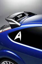 2X STAR TREK INSIGNIA LOGO car stickers/decals VINYL