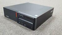 Lenovo M900 SFF i5-6500T 2.50GHz 8GB RAM 256GB SSD Win10 Pro WiFi DVDRW