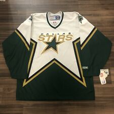 NWT CCM Dallas Stars NHL Hockey Jersey 1999 Vintage White Home XL