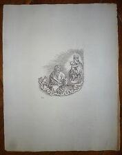 DURER Estampe d'après une gravure tirage 19iem