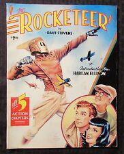 1988 The ROCKETEER An Album by Dave Stevens VG- 3.5 Eclipse - Harlan Ellison