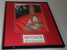 Beyonce at 2015 Met Gala Framed 11x14 Photo Display