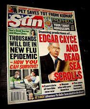EXAMINER MAGAZINE December 30, 2003 EDGAR CAYCE DEAD SEA SCROLLS - WAR