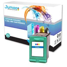 Cartouche type Jumao compatible pour HP PSC 2700 Series 2710 2710XI, Couleurs