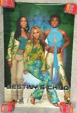 2001 Vintage Destiny's Child Poster w/ Beyonce 22x34 Brand New Sealed! #605