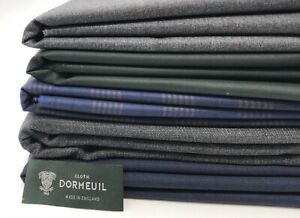 Jacket/Trouser Bunch 5 Pcs By Dormeuil ,100% Wool Fabric ,Suiting, Dressmaking,