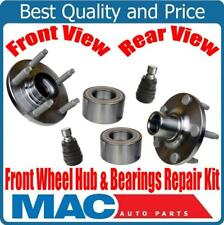 For 11-14 Ford Edge MKX (2) Wheel Hub & Bearing Repair Kit Ball Joints 4pc kit
