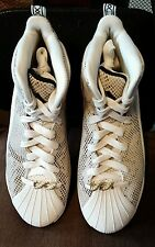 NEW  Adidas Men D Rose 5 Boost OG white cblack cbrown C77249