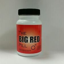 Testosterone! The Big Red Pill- #1 Rated Testosterone Booster - Male Enhancement