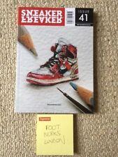sneaker freaker  magazine issue 41 nike jordan 1 off white sneaker eulogy