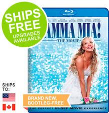 Mamma Mia (Blu-ray, 2008) NEW, Meryl Streep, Pierce Brosnan, Amanda Seyfried