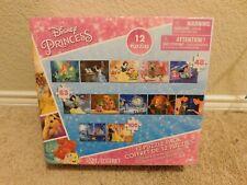 New Cardinal Disney Princess 12-Puzzle Pack set
