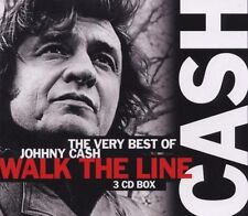 "JOHNNY CASH ""THE VERY BEST OF"" 3 CD BOX NEUWARE!"
