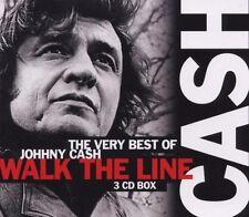 "Johnny Cash ""The very best of"" 3 CD BOX merce nuova!"