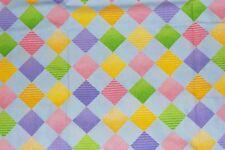 NEW Scrubs  ~   Print Scrub Top   ~   2X   ~   Argyle Light Blue
