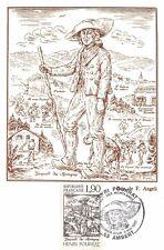 France (Henri POURRAT, Gaspard des montagnes) 1987  carte premier jour
