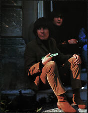 THE BEATLES POSTER PAGE . 1965 FILMING HELP! MOVIE GEORGE HARRISON  . V17