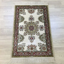 Yilong 2'x3' Porch Hand knotted Carpet Home Decor Handmade Area Silk Rugs 150A
