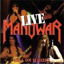 "MANOWAR ""HELL ON WHEELS-LIVE"" 2 CD NEW!"
