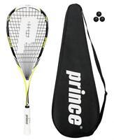 Prince Pro Rebel 950 Yellow/Black Squash Racket + 3 Balls RRP £190