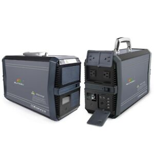 Sungzu 1500W Portable Lithium-ion Backup Battery AC and DC Output
