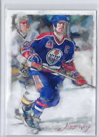 Mark Messier Authentic Artist Signed Limited Edition Artist Signed Card 50 / 50