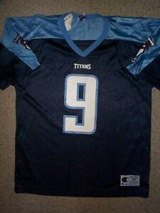 *IRREGULAR* Tennessee Titans STEVE McNAIR nfl Jersey Adult MENS/MEN'S (m-medium)