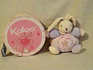 Kaloo small chubby bunny rabbit soft toy Lilirose  boxed