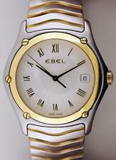 Ebel Classic Wave 38mm 18k & Stainless S with a Radiating Sunburst Dial 1187F41