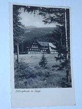 1941 Ak POLOGNE Schlingelbaude m.koppe POLAND hirschberg riesengebirge Schlesien