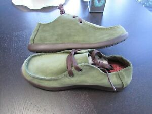 NWT CROCS SANTA CRUZ LOAFERS GREEN SHOES MEN'S  Sz 7