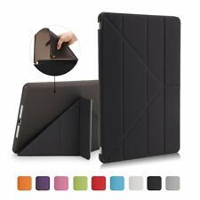 Origami PU Leather Smart Case TPU Back Cover Stand For Apple iPad 2 3 4 Air2 Pro