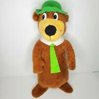 "Vtg Yogi Bear Stuffed Animal Hanna-Barbera 1980 Mighty Star Plush Toy 22"" Rare!"
