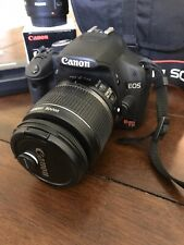 Canon REBEL EOS T1i Digital Camera and Extras