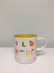 "Le Creuset ""Florida"" Destination Mug 11.8 Oz Coffee Cup"