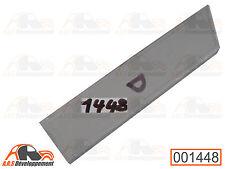 TOLE NEUVE de réparation sous caisson banquette (DROITE) de Citroen 2CV -1448-