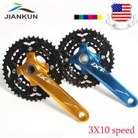IXF 24/32/42t triple Speed MTB Bike Crankset BB 104/64bcd Chainring Sprocket