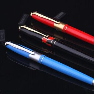 Picasso Braque 923 Rollerball Pen - Fashion Signature Pen ( Black , Blue & Red )
