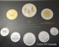 2012 Canada 8 Coin Silver PROOF Set w/ Silver Penny + Gold Dollar #coinsofcanada