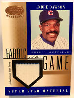 Andre Dawson - 2001 Leaf Certified Materials Fabric Of The Game *HOF* Patch CUBS